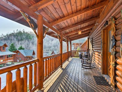Photo for Cozy Pigeon Forge  'Candle Light Cabin' w/Hot Tub!