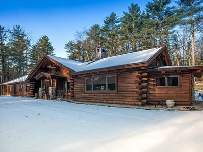 Photo for Amazing Ski Lodge - Incredible 7,500 Sq. Ft. Log Cabin