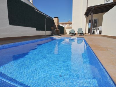 Photo for IDEAL HOME FOR YOUR HOLIDAYS WITH PRIVATE POOL + WIFI FREE