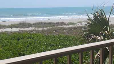 """True beachfront. Don't settle for """"close to the ocean"""" or """"steps from beach""""."""