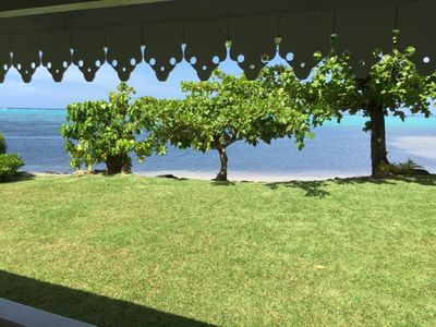 Photo for Seaside colonial house in Haapiti, Moorea