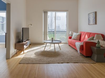 Photo for Chic 2BR in Seaport by Sonder