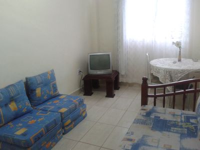 Photo for Apartment in the corner of the fort 200 m from the beach. Great location!