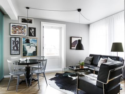 Photo for Stylish apartment in Downtown Reykjavík with Balcony