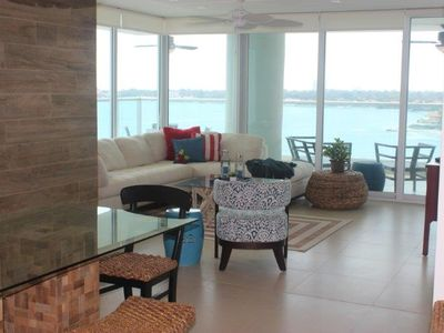 Photo for Beachfront Luxury, amazing view and Resort amenities