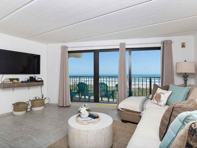 Florence II 202 - Fun-est Place on the Beach! Second Story View Looking Straight at the Gulf of Mexico