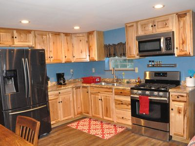 """Photo for Apt 1 """"Modern Yet Country"""" Barn Apt on 10 Acres Near Attractions"""