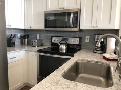 State of the art stainless steel appliances if you love to cook.
