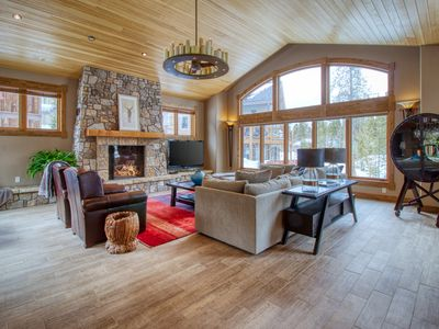 Photo for Spacious mountain home w/ private hot tub, firepit, & gourmet kitchen