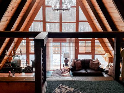 Photo for Secluded Gaylord Ski Chalet: Sauna ~1 Mi to Slopes