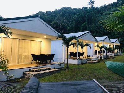 Green Oasis located inland Avatiu Valley- Basic & Affordable