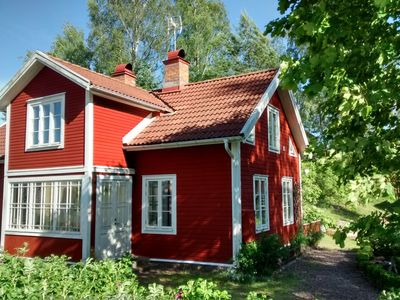 Photo for Holiday house in Lönneberga on the river near Vimmerby up to 10 persons - Haus Oskarslund