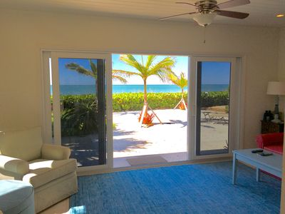 Private BEACHFRONT home on Casey Key