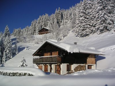 Photo for CHALET ALPAGE, SEIZURE, 700M SKIING, NATURE AND SCENIC VIEW