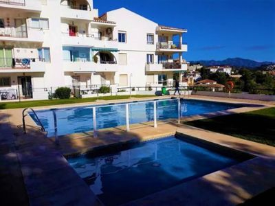 Photo for apartment 200 m from the beach, with sea views