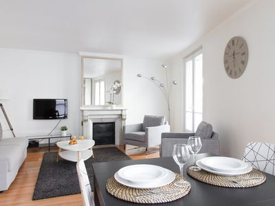 Photo for AMAZING LOCATION! 1BR FLAT STEPS FROM THE LOUVRE & TUILERIES GARDENS