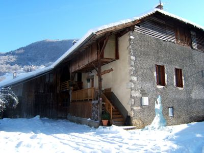 Photo for COQUET CHALET IN SAVOIE MONT-BLANC