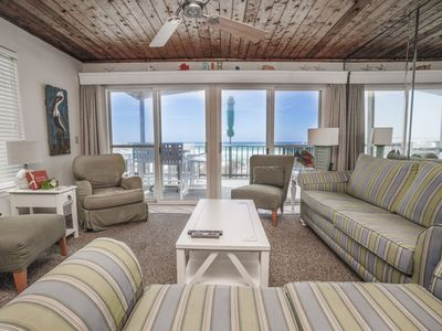 Photo for DIRECT BEACHFRONT! FREE ACTIVITIES & PET FRIENDLY! WOO HOO! CLICK TO SEA!