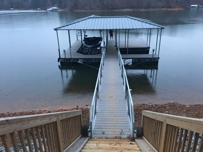 Photo for Private Setting On 4 Acres On Lake Lanier