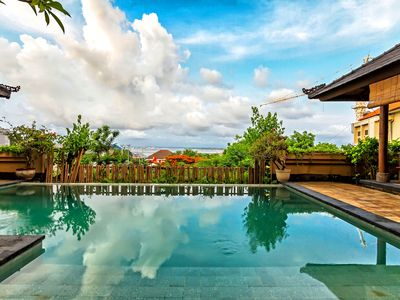 Photo for Large pool villa, centrally located, close to Nusa Dua and Jimbaran beaches