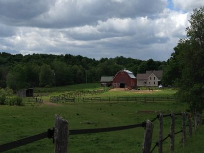 "Photo for ""Cedar Ridge Farm"" - a 250 year old farmhouse on 150 acres"