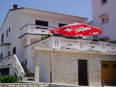 Photo for Holiday apartment with large terrace and sea view