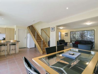 Photo for Fabulous townhouse in middle of Cowes! Sensational living areas and courtyard.