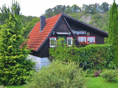Photo for Gorgeous bright holiday house in the Harz with terrace and panoramic view