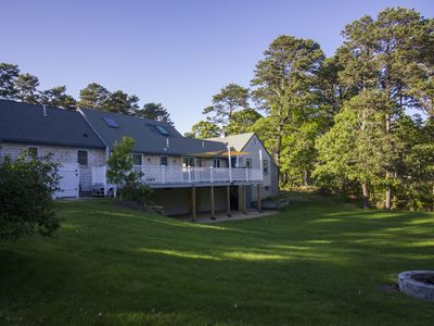 Photo for A Wonderful Family Vacation Home with a Huge Deck, game room, and Big Backyard!