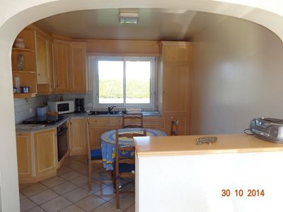 Photo for Holidays in Locmariaquer, house 5 to 6 people, 400 m village and port, 700 m pla