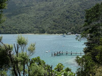 Photo for Classic Kiwi Bach, Endeavour Inlet, Queen Charlotte Sounds Marlborough