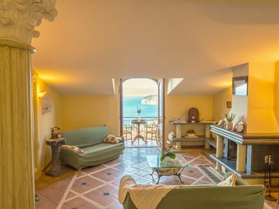 Photo for Heart & Soul of Sorrento - Private Villa with stunning sea view terrace