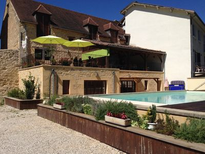 Photo for Comfortable family home and pool in the heart of the Pèrigord Noir/Sarlat/WIFI