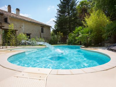 Photo for Studio with pool in Drôme Provençale