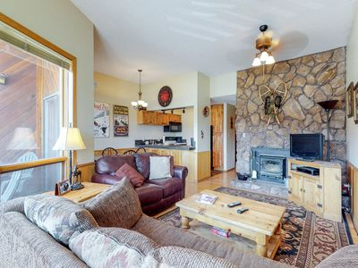 Photo for Remodeled condo w/ mountain views, shared ping-pong & ski access!