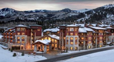 Photo for Sunrise Lodge Sleeps 4 and only 150 ft to 1st chair - ski to lodge at end of day