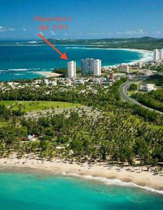 Photo for On the 21st Floor Beautiful Beach front Condo with spectacular ocean view
