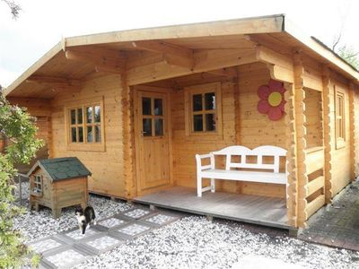 Photo for Camping du Viaduc ** - Chalet Ranch 3 rooms for 4 people