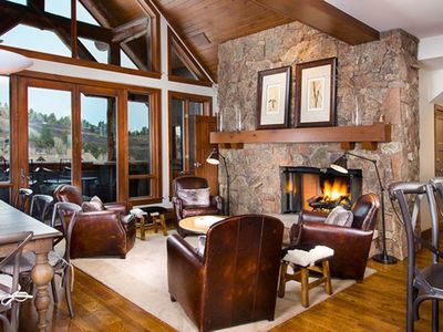 Photo for State-of-the-Art Condo with Stone Fireplace and Ski-In/Ski-Out Access