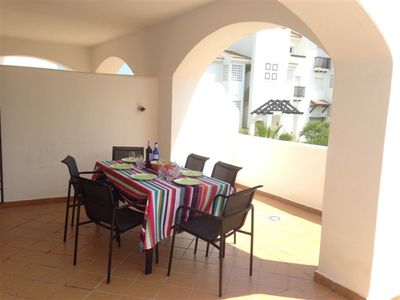 Photo for 2 private swimming pools, sand beach at 450m, South oriented terras, WIFI, TV