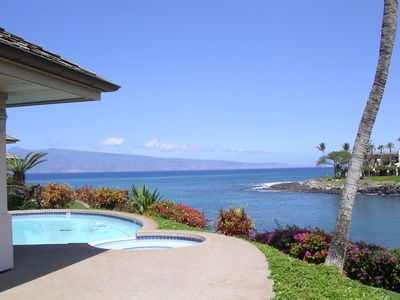 Photo for Oceanfront Estate with Pool, Spa, Tennis Court, and Turtles