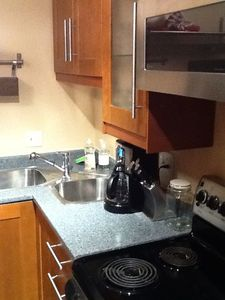 Microwave and Stove/Oven