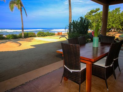 Photo for Villa 10 is an Epic beachfront 3 bedroom, 2 bath, 2 story, steps onto beach!!!