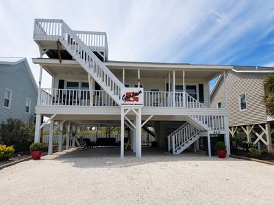 Photo for Newly Updated 4 bedroom 2 baths, WiFI, Linens, Short walk to the beach