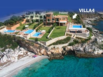 Photo for Villa Brio complex. Your Balcony on the Ionian Sea! - Villa 4
