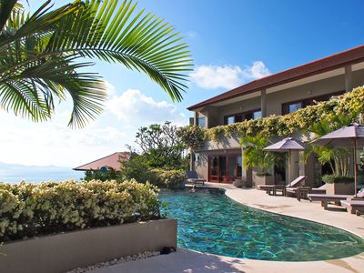 Photo for Panorama Summit 5BR ocean view w pool