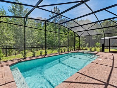 Photo for Luxurious 8BD/6BA Home with pool near Disney World