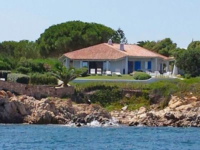 Photo for Wonderful private villa for 6 guests with A/C, TV and parking