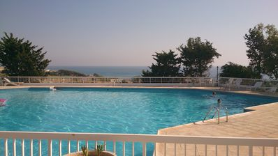 Photo for Sea view 2,5 bedrooms house at convenient location