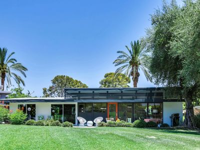 Photo for Tennis Garden Indian Wells Mid Century View Home and Pool